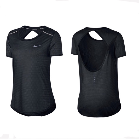 Nike Dri Fit Running Open Back Top ( M ) NWT